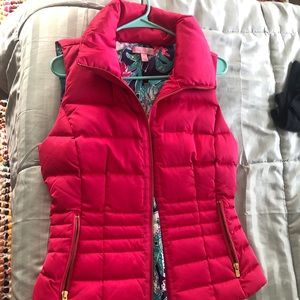 New Lilly Pulitzer Puffy Vest